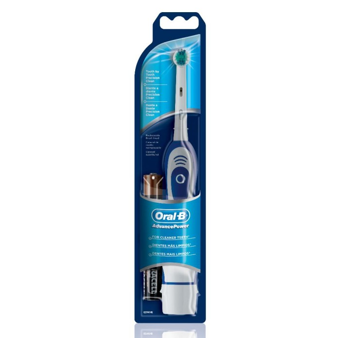 Oral-B Advance Power Spazzolino Elettrico Con Batteria 450TX