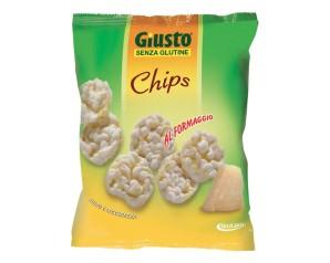 GIUSTO S/G CHIPS FORMAGGIO 30G