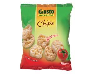 GIUSTO S/G CHIPS PIZZA 30G