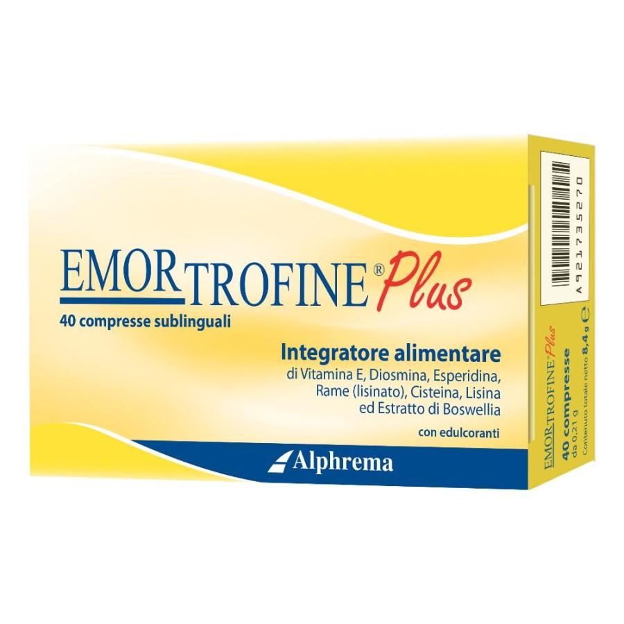 Alphrema Emortrofine Plus 40 Compresse