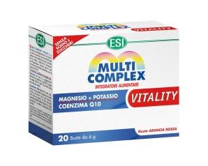 Esi  Vitamine e Minerali Multicomplex Vitality Integratore 20 Buste