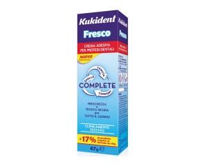 Kukident  Protesi Dentali Fresco Complete Crema Adesiva Protettiva 47 g