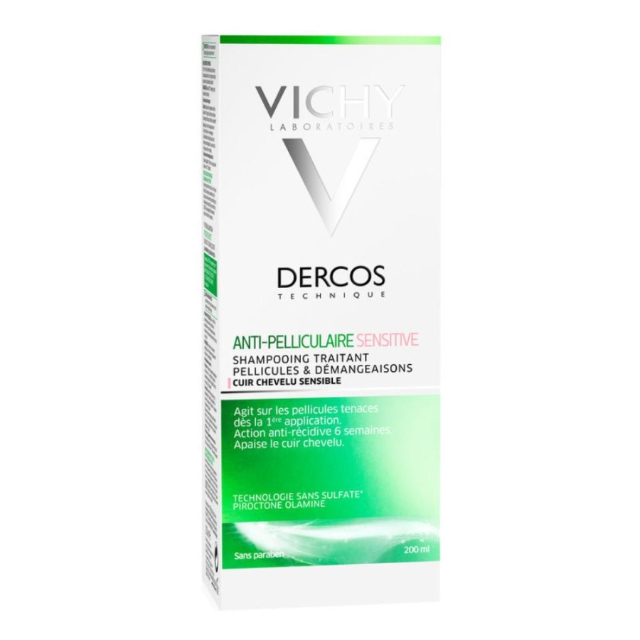 Dercos Shampoo Anti Forfora Sensitive Antiforfora Sensibile 200 ml