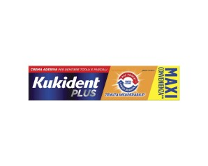 Kukident Doppia Azione Crema Adesiva Protettiva 60 g