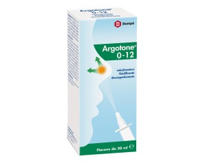 Argotone 0-12 Spray Nasale Decongestionante 20 ml