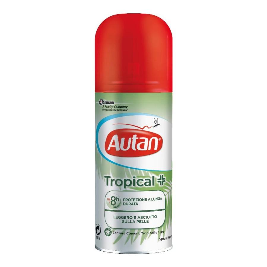 Autan Tropical Spray Secco Delicato Insetto-Repellente 100 ml scadenza 08/04/21
