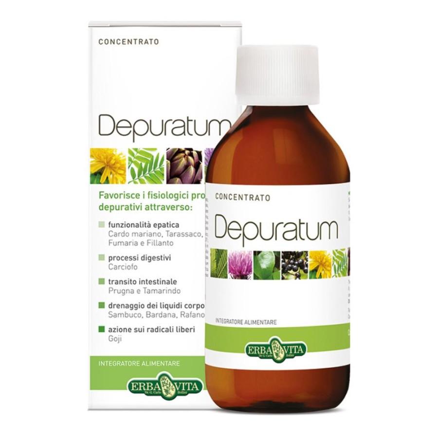 Erba Vita Depuratum Concentrato Integratore Alimentare 200 ml