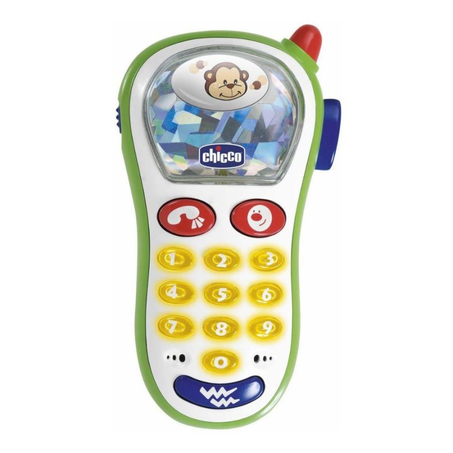 Chicco  Giochi Uditivi Manuali Happy Colors Telefonino Vibrante Età 6 m+