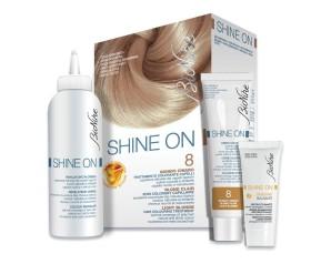 BioNike Shine ON Tintura per Capelli Cute Sensibile 8 Biondo Chiaro