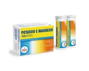 Dompe' Farmaceutici Dompe' Potassio E Magnesio 2 Tubi Da 10 Compresse