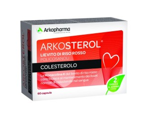 Arkocapsule  Colesterolo e Trigliceridi Arkosterol  60 Capsule