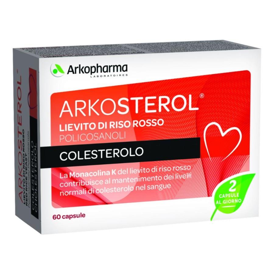 Arkocapsule  Colesterolo e Trigliceridi Arkosterol  60 Capsule scad. 04/21