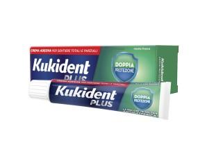 Kukident Plus Doppia Protezione Crema Adesiva Protettiva 40 g