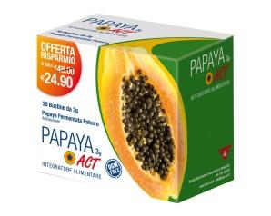 Linea Act Papaya Act 3 g Integratore Alimentare 30 Bustine