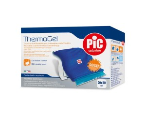 Pic  Medicazioni Thermogel Fascia Caldo Freddo con Foderina 20x30 cm