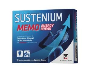 Sustenium Memo Energy Break Integratore Alimentare 12 Buste Orosolubili