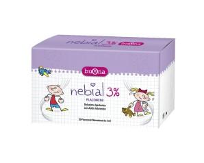 NEBIAL 3% 20 FLACONCINI 5ML