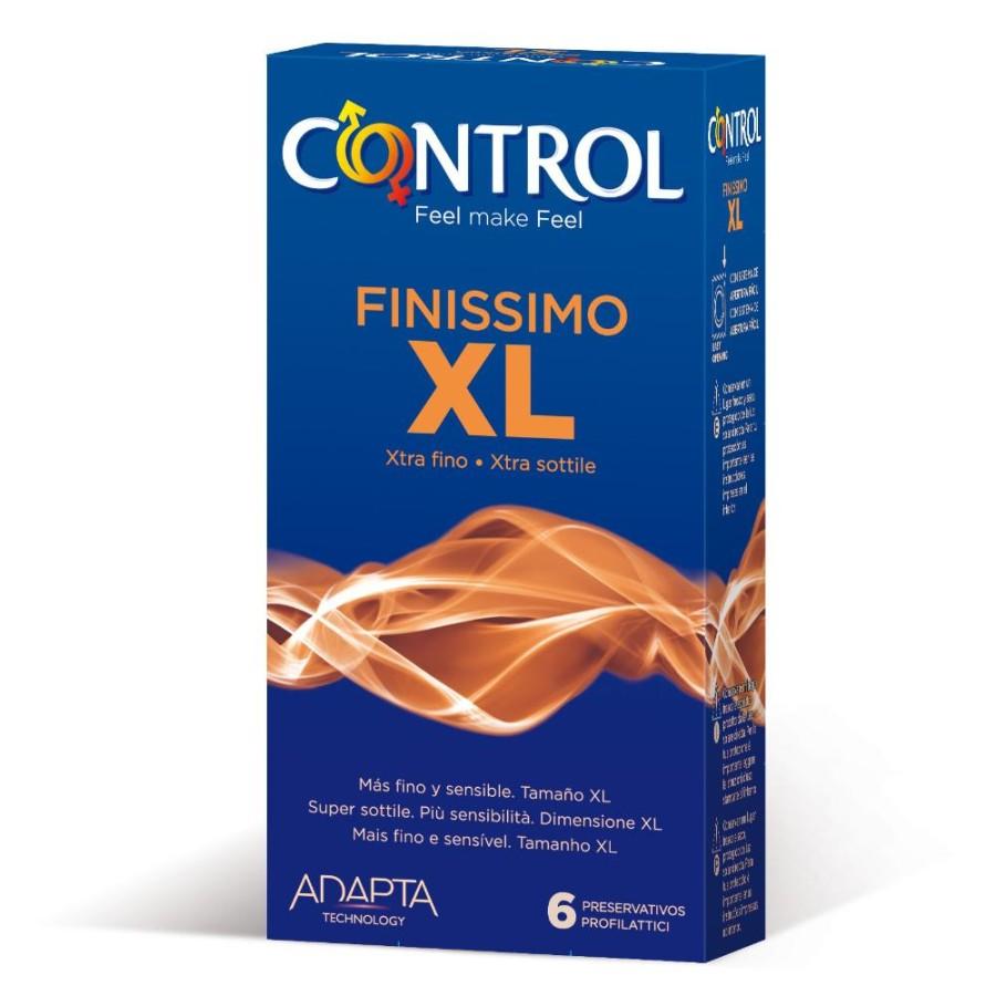 Control Finissimo XL UltraSottili Protezione 6 Profilattici