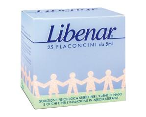 Libenar Soluzione Fisiologica 25 Flaconcini 5 ml