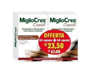 MiglioCres  Capelli Splendenti MiglioCres Capelli Anti-Caduta 60+60 Capsule