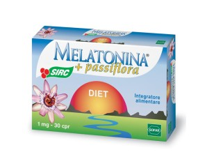 Sofar  Sonno e Relax Melatonina Diet Integratore Alimentare 30 Compresse