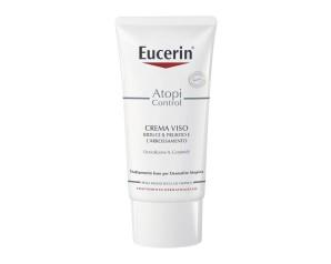 Eucerin AtopiControl Crema Lenitiva Viso 12% Omega Pelli Atopiche 50 ml