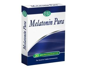 Esi  Sonno e Relax Melatonin Pura 1 mg Integratore 30 Microtavolette