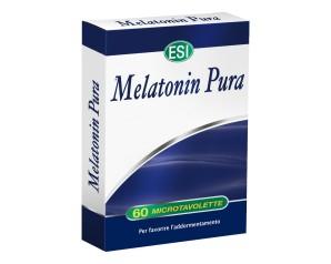 Esi  Sonno e Relax Melatonin Pura 1 mg Integratore 60 Microtavolette