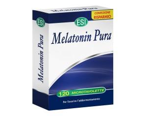 Esi  Sonno e Relax Melatonin Pura 1 mg Integratore 120 Microtavolette