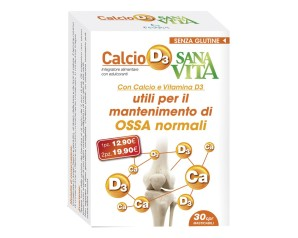 SANAVITA Calcio Vit.D3 30 Cpr