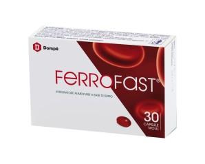 Bracco  Vitamine Minerali Ferrofast Integratore Alimentare 30 Capsule