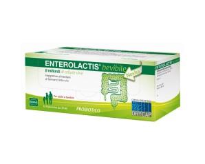 Sofar Enterolactis Integratore Fermenti Lattici 12 Fiale