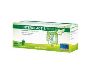 Sofar  Intestino Sano Enterolactis Integratore Fermenti Lattici 6 Fiale