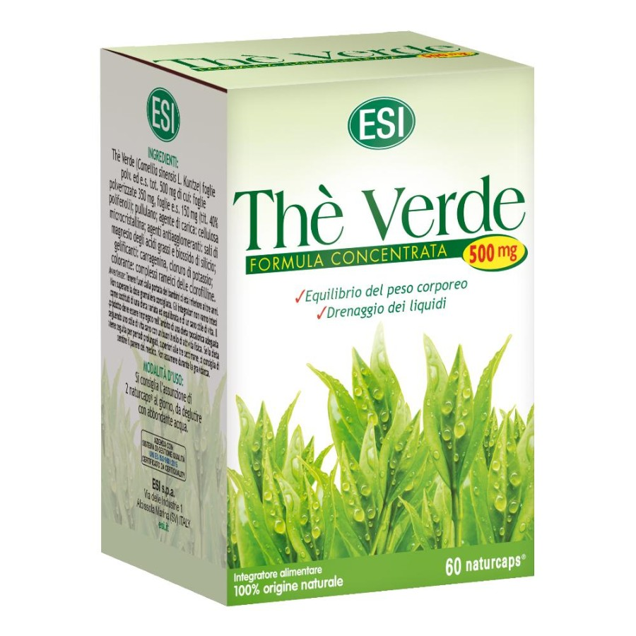 Esi The Verde Integratore Alimentare 60 Naturcaps