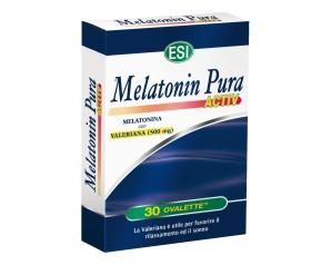 Esi  Sonno e Relax Melatonin Pura Activ 1 mg Integratore 30 Ovalette