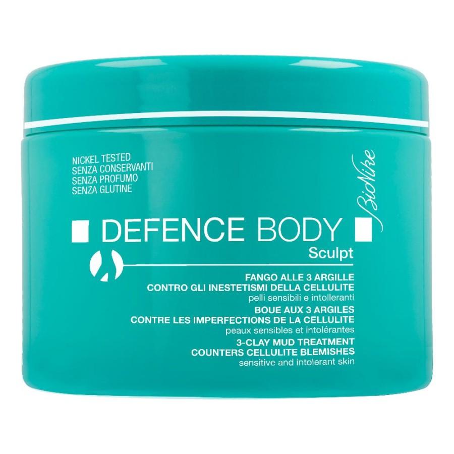 BioNike Defence Body Anticellulite Fango 3 Argille Tonificante 500 g