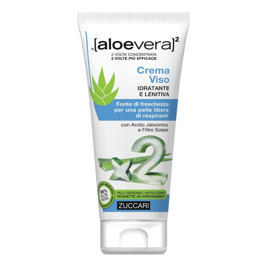 Zuccari Aloevera2 Crema Viso Idratante Lenitiva 50 ml