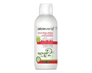 Zuccari  aloevera2 Aloe Vera Puro Succo Con Antiossidanti 1000 ml