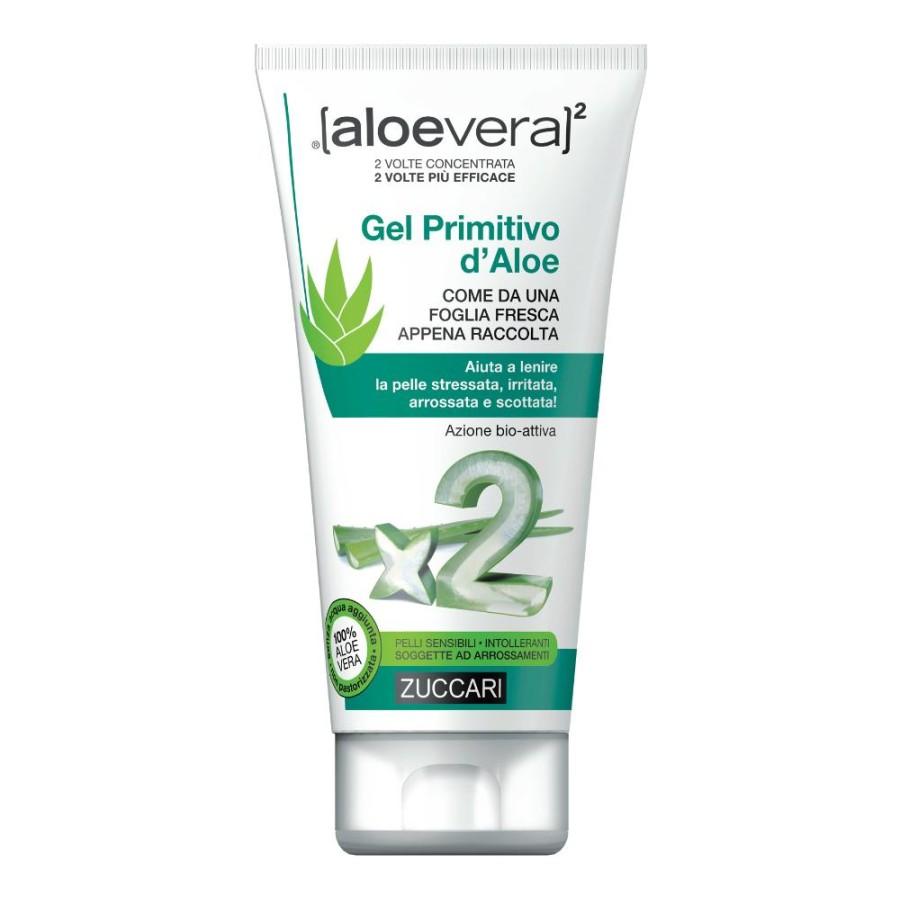 Zuccari aloevera2 Gel Primitivo d'Aloe Lenitivo Pelle Stressata 150 ml