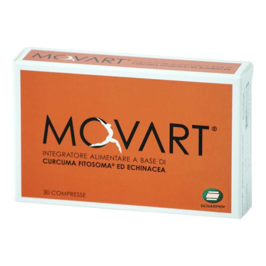 Scharper Movart Integratore Alimentare Articolazioni 30 Compresse