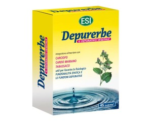 Esi  Drenante Depurativa Depurerbe Integratore Alimentare 45 Ovalette