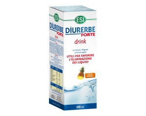 Esi  Drenante Depurativa Diurerbe Forte Integratore Soluzione 500 ml Ananas