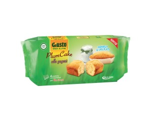 GIUSTO S/G Plumcake Yog.160g