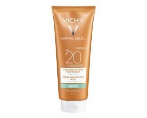Vichy  Ideal Soleil SPF20 Latte Solare Viso e Corpo Protezione Bassa 300 ml