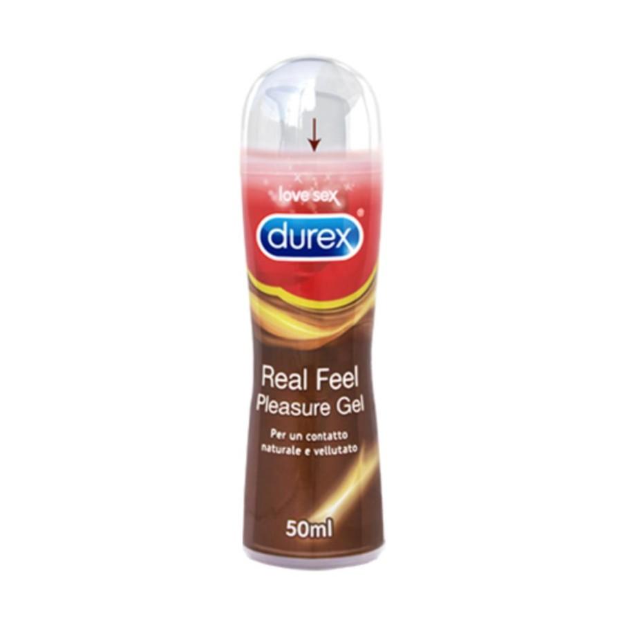 Durex Lubrificanti Real Feel Gel Lubrificante Benessere Coppia 50 ml