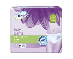 Essity Italy Pannolone A Mutandina Tena Lady Pants Discreet Medium 12 Pezzi