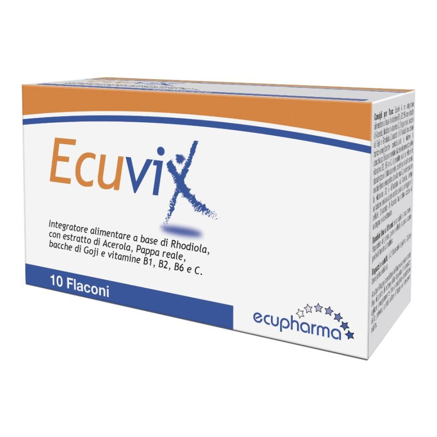 Ecuvix Integratore Alimentare 10 flaconcini