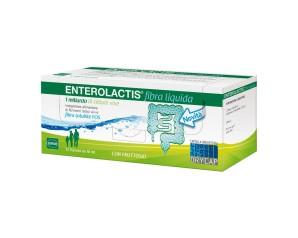 Sofar  Intestino Sano Enterolactis Fibra Liquida Integratore 12 Flaconcini