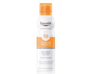 Eucerin Sun SPF50 Spray Corpo Effetto Asciutto Pelle Sensibile 200 ml