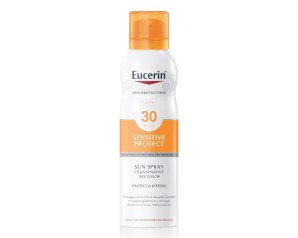 Eucerin Sun Spray SPF30 Corpo Effetto Asciutto Pelle Sensibile 200 ml